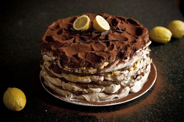 Kitchenette - Čokoládovo-citrónový Meringue