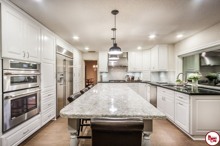 Laguna Hills - Kitchen Remodel  #allwhitekitchen #traditionakitchen #kitchenremodeling