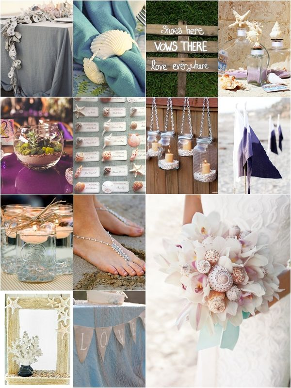 25 beach themed wedding projects diy ideas beach wedding ideas 25 beach themed wedding projects diy ideas beach wedding ideas pinterest beach themed weddings themed weddings and beach junglespirit Gallery