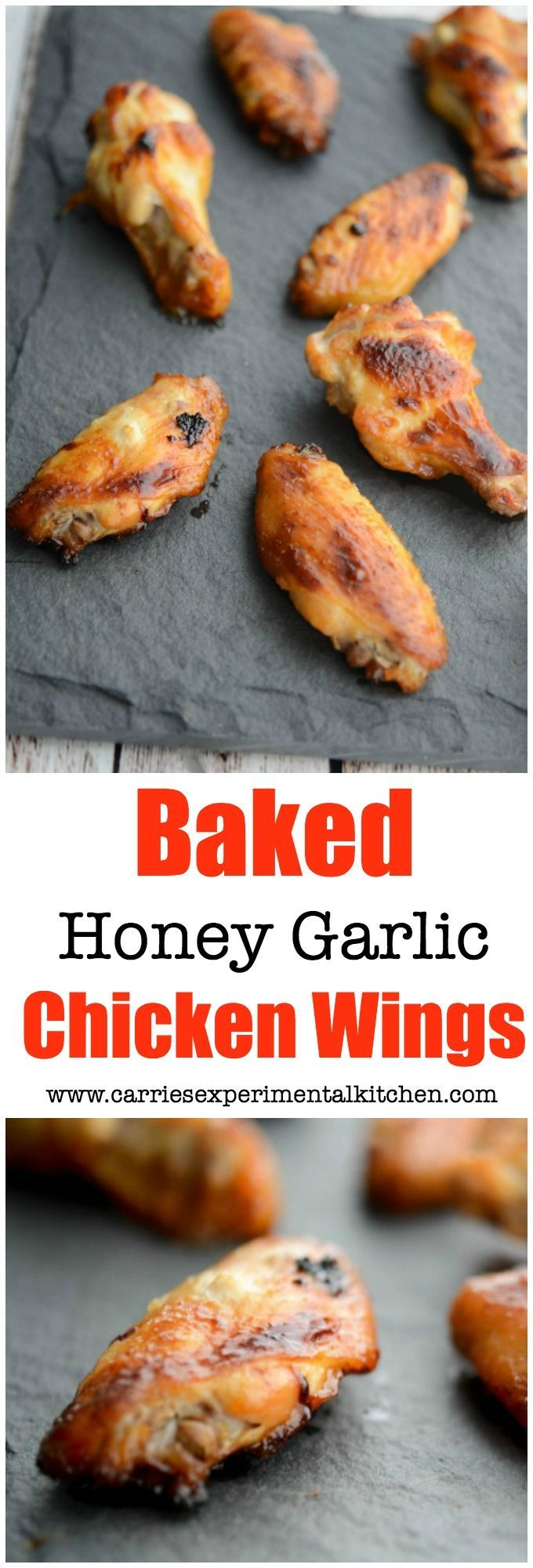 At only 53 calories each, these Baked Honey Garlic Chicken Wings are a healthier option for game day snacking.