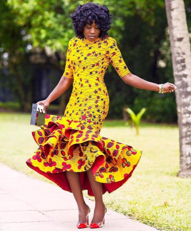 Awesome  African Clothing Nigerian Style Ghanaian Fashion African Women
