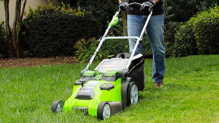 While I generally approve of anything that makes manual labor less laborious for me, I am not too stoked to hear about GreenWorks' battery operated lawn mower's 70-minute runtime. 70 minutes?! Great. That means my mama's going to make me mow the front an