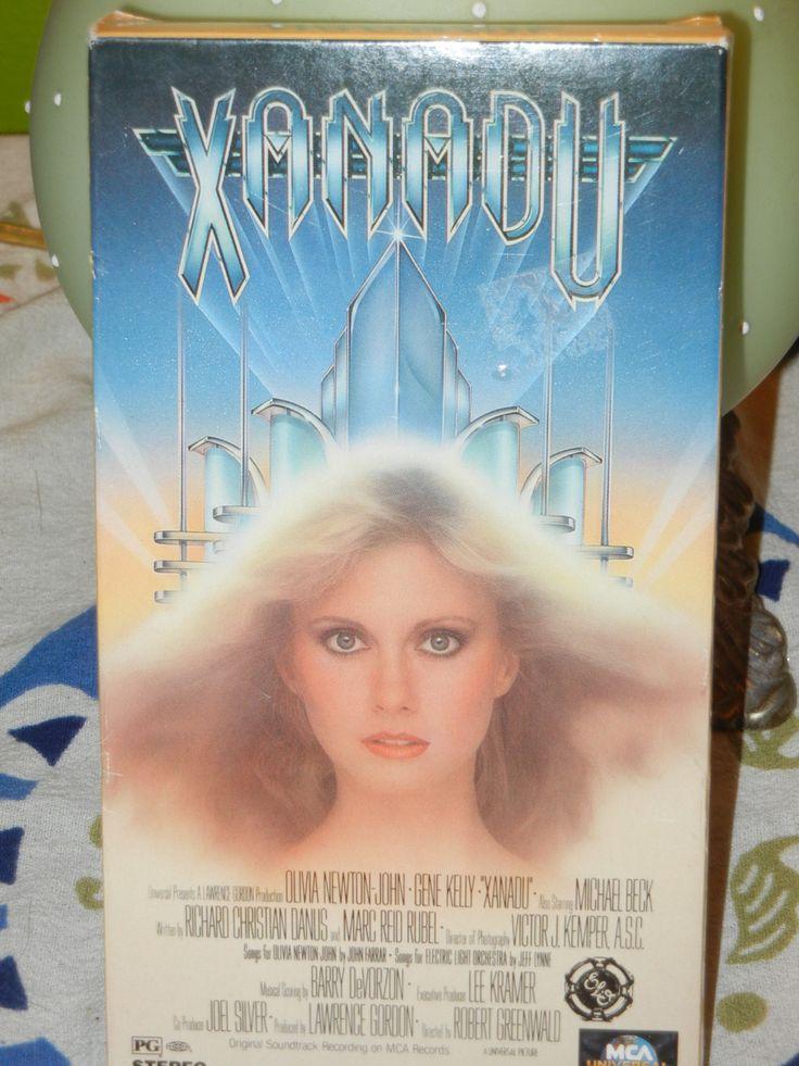 Xanadu  VHS movie  Olivia Newton-John Michael Beck Gene Kelly Electric Light Orchestra ELO  1980's Disco Roller Skating Boogie by GailsPopCycle on Etsy
