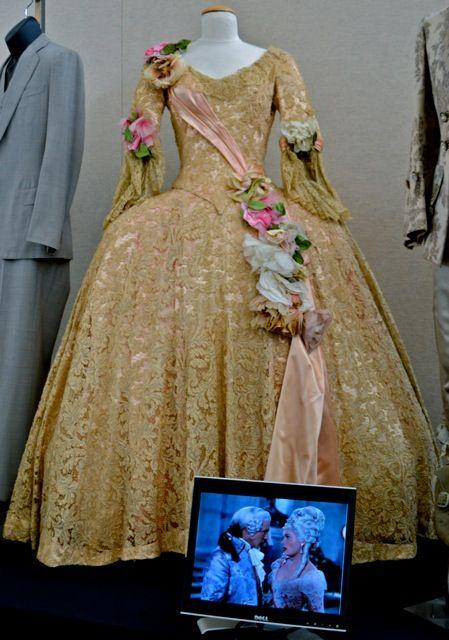 "Jean Hagen's gown from ""Singing in the Rain"". 1952, Walter Plunkett designer."