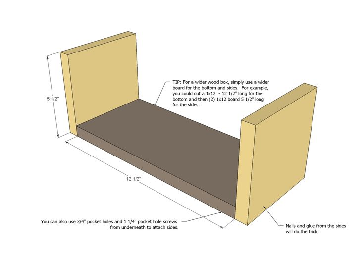 Ana White | Build a Pallet Storage Boxes | Free and Easy DIY Project and Furniture Plans
