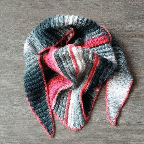 Seagull cotton crochet shawl scarf
