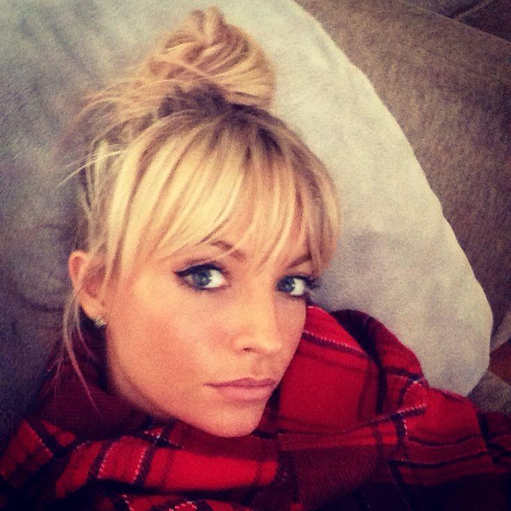 Surprising 1000 Ideas About Blonde Hair Bangs On Pinterest Platinum Blonde Short Hairstyles Gunalazisus