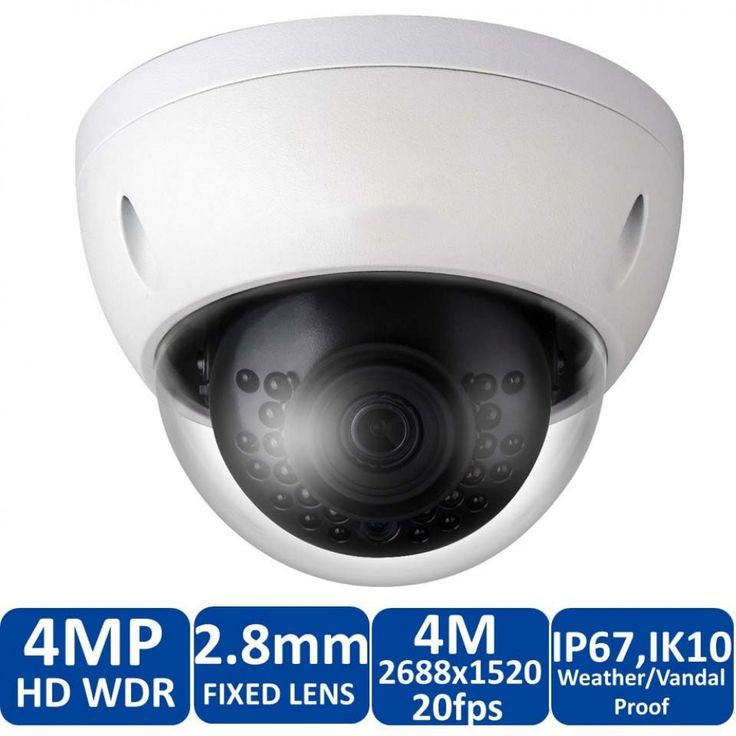 Dvrunlimited DVR-29-M0029 4MP Dome IP Security Camera