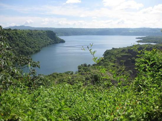 Masaya crater lake Nicaragua