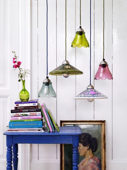Pretty pendant lights / Blog Coisas da Doris - UOL Blog