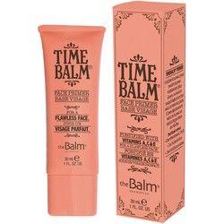 Hemligheten till silkesmjuk, felfri hy stavas timeBalm Face Primer. Med timeBalm Face Primer skapar
