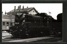 Foto 1964 Sopron Gysév Diesellok Lokomotive Lok-Nr. M44.001 Eisenbahn Ungarn MAV