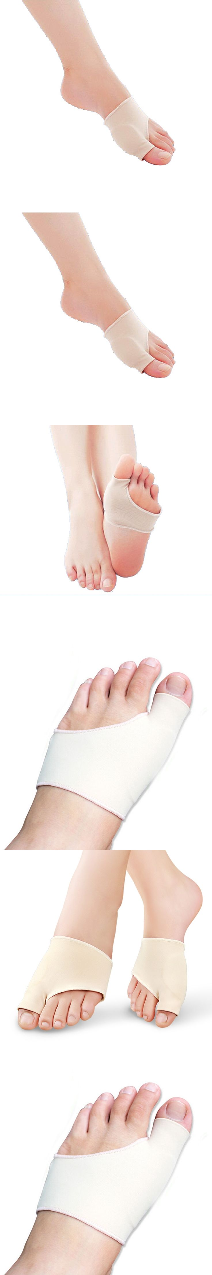 Bunion Gel Sleeve Hallux Valgus Device Foot Pain Relieve Foot Care For Heels Insoles Orthotics Overlapping Big Toes Correction
