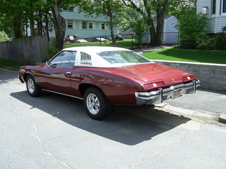 1973 Pontiac LeMans This was my first car Exactly like this but