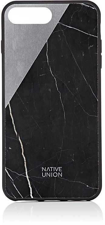 Native Union Men's CLIC Marble iPhone® 7 Plus Case-BLACK