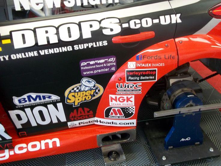 Dave Newsham's AmDEssex Focus in BTCC at Silverstone 2014