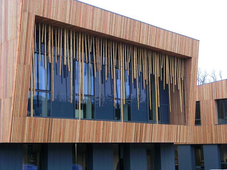 Best ideas about timber facade on pinterest