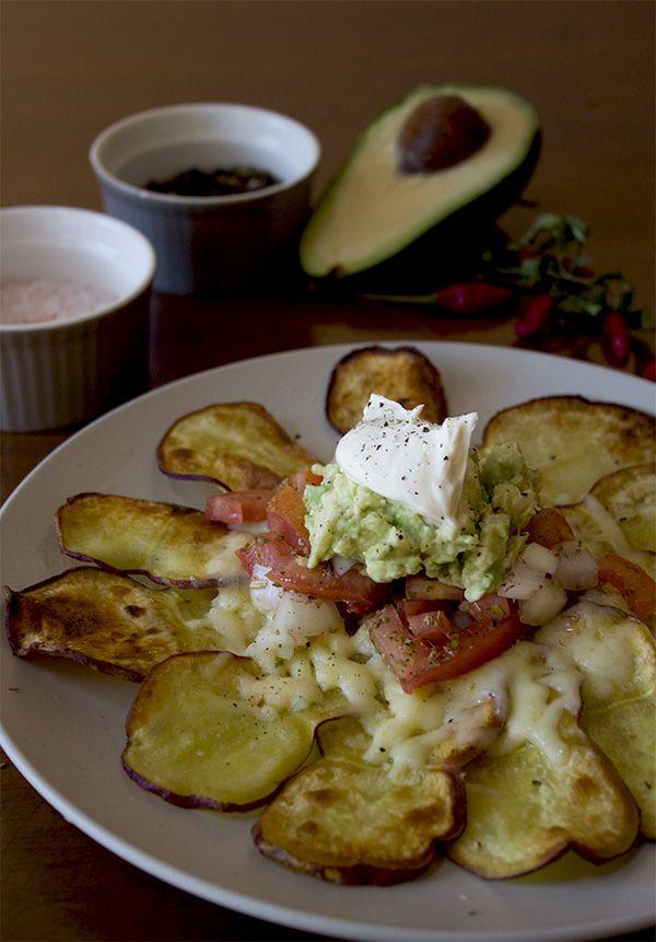 Recipe for Sweet Potato Nachos