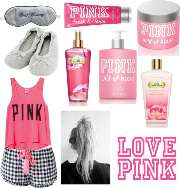 """""""LOVE PINK"""" by almendrajessen ❤ liked on Polyvore"""