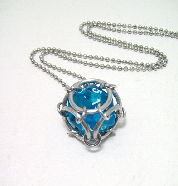 magic the gathering dice necklace dungeons by