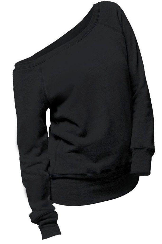 Cupshe Big Deal One Shoulder Sweatshirt