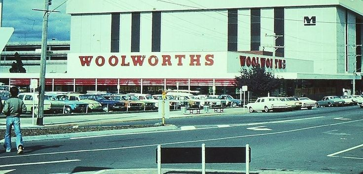 Woolworths, McCrae Street, Dandenong, Late 1970s/Early 1980s.