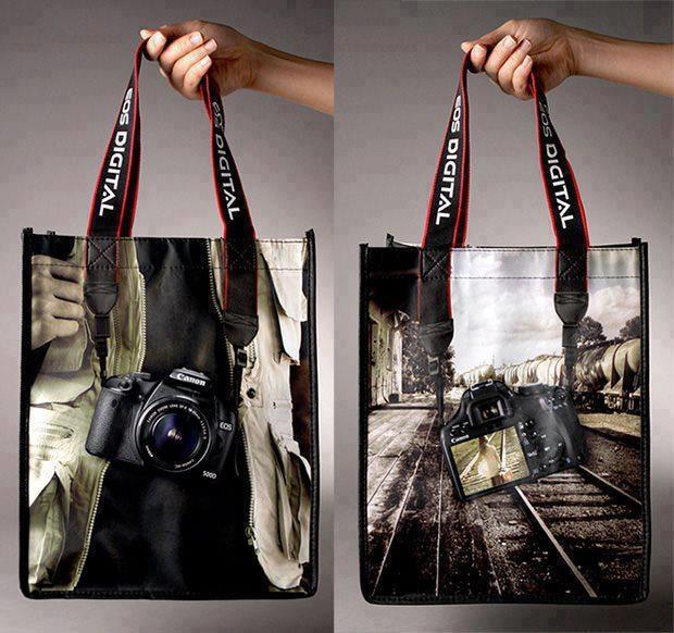 Camera Band On Ping Bag Marketing Pinterest Bags Creative And