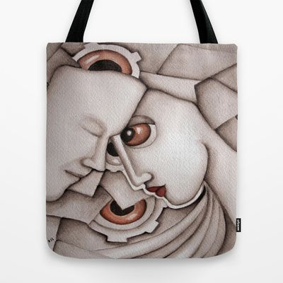 I have dreamed of you  Tote Bag by SimonaMereuArt - $22.00