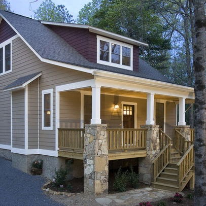 Red And Tan Exterior Instead Of Red Maybe Do Dark Gray House Exterior Ideas Pinterest