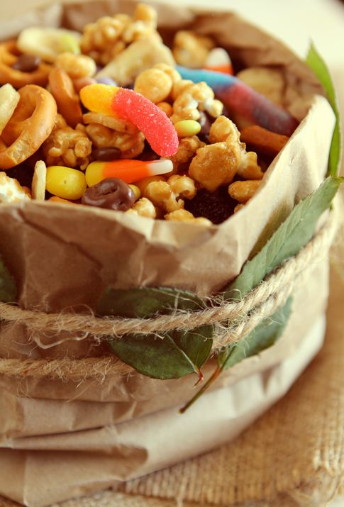 Halloween Trash Mix...perfect for your halloween party