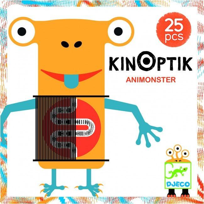 Kinoptik Animonstre 26 pièces - Castello | Jeux et Jouets