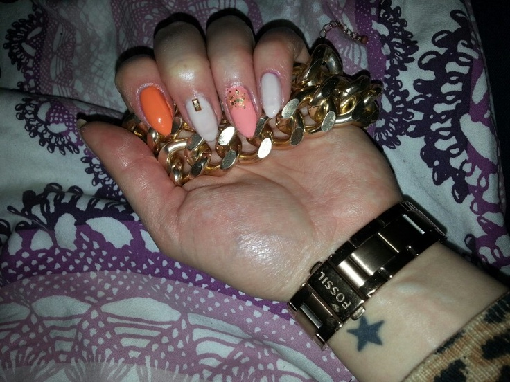 Nails made by me ;D
