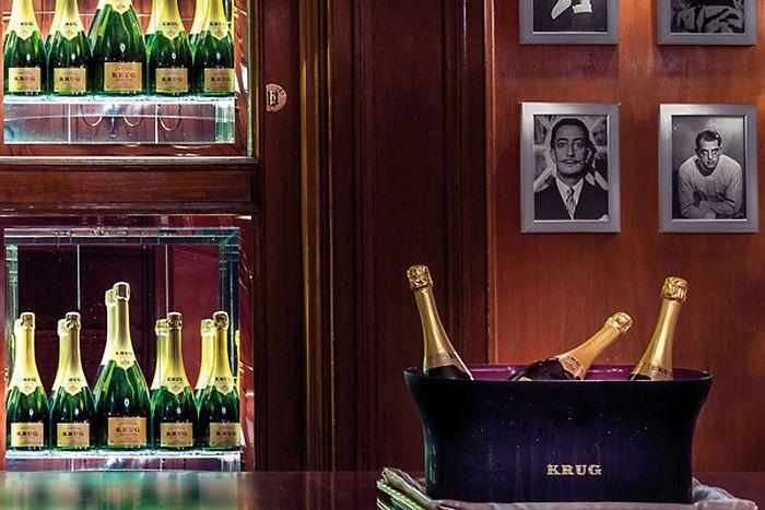 Krug Bar & Hall | Бар шампанского | Отель Ритц, Мадрид