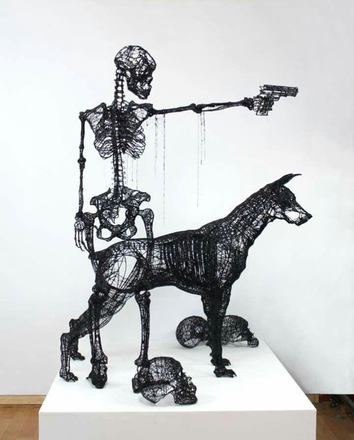 9 besten Esculturas Bilder auf Pinterest | Skulpturen, Kabelkunst ...