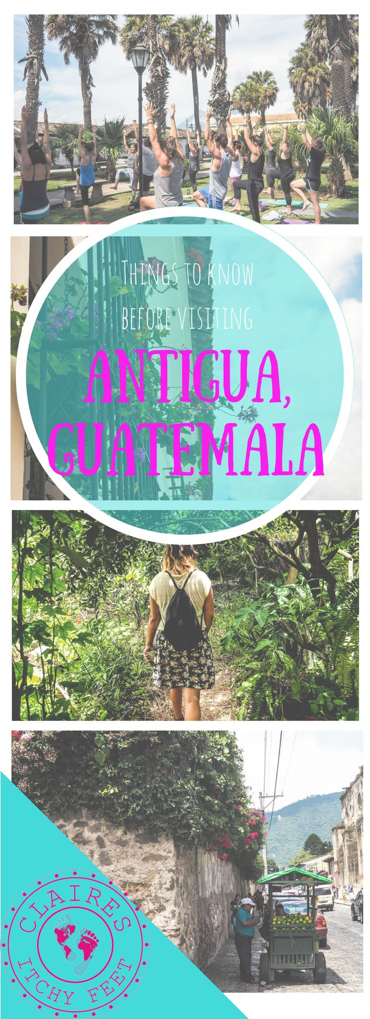 Planning a trip to Antigua Guatemala? Antigua is one of the most visited places in Guatemala and most travelers traveling through Central America at some point pass through Antigua, even if it's just for a few days. Whether it's for sightseeing, volcano hiking or to learn Spanish at one of Antigua's many language schools there are a few things you should know before you arrive.