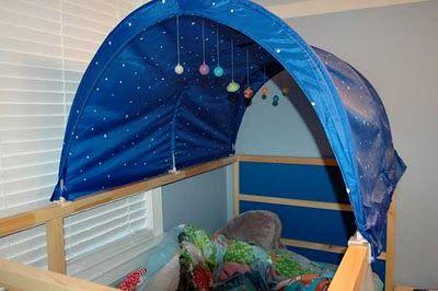Kura Bed Tent Planetarium - IKEA Hackers