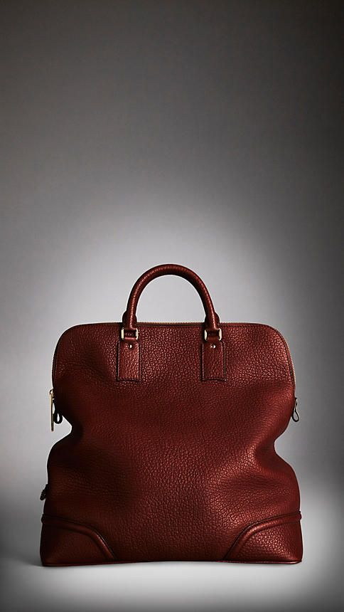 Burberry Prorsum men's elephant print leather holdall a/w 2012. I'd still carry the crap outta this bag ;)