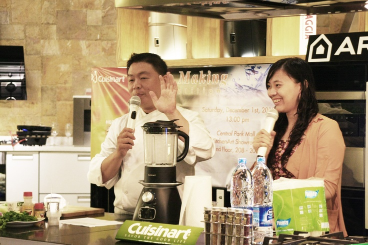 Cuisinart Demo- Competition on Jakarta