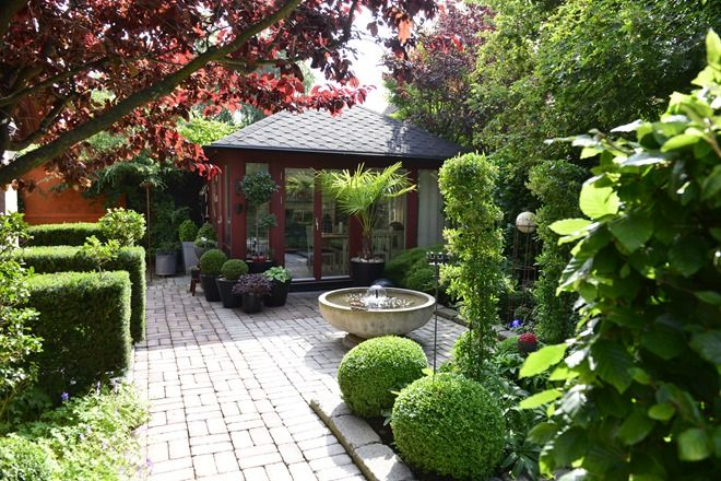 677 best garden boxwood images on pinterest for Haven home and garden design