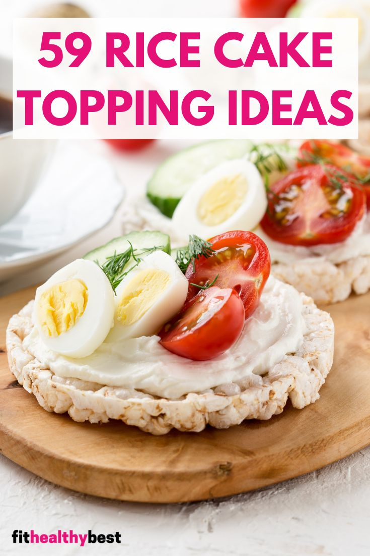 rice cake snacks for weight loss