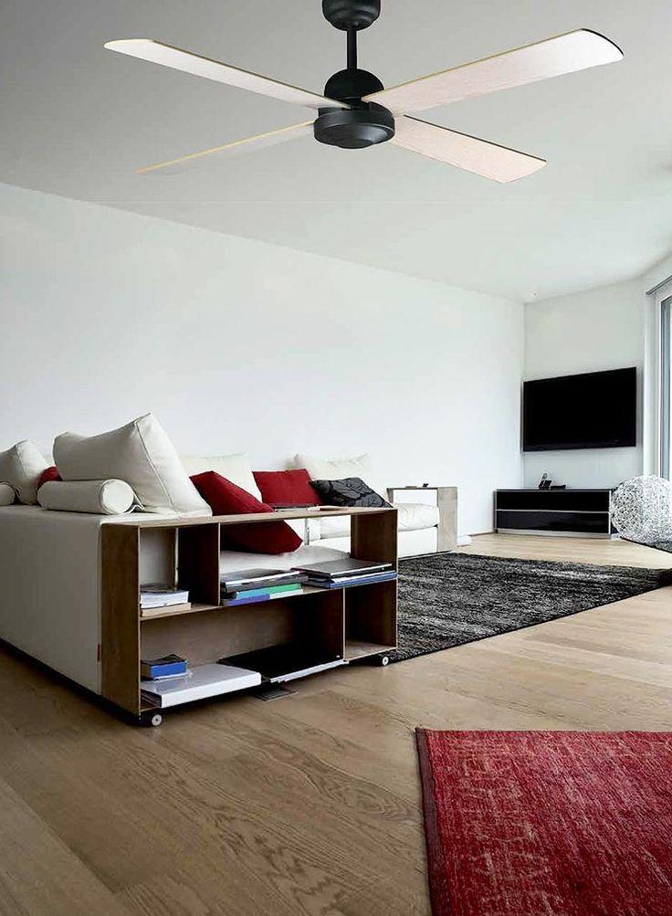 Ventilador de techo marrón IBIZA ambiente