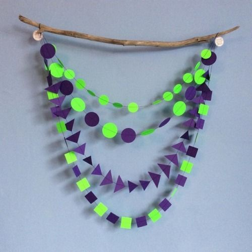 OOGIE BOOGIE multistrand garland new in the Halloween section of our shop! 💜💚💜💚  #oogieboogie #greenandpurple #halloweeniscoming #Halloween #halloween2017 #garlands #bunting #decor #spooky #handmade #halloweendecor #halloweenparty #orangeandblack #homedecorations #trickortreat #happyhalloween #partydecor #halloweeninspo #instahalloween #glasgowetsy #etsyupdate