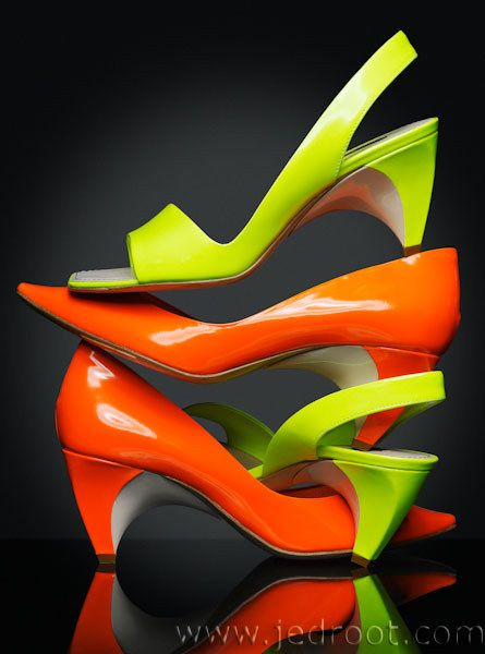 Jed Root - Dan Forbes - Great color, and an interesting way to display the shoes.