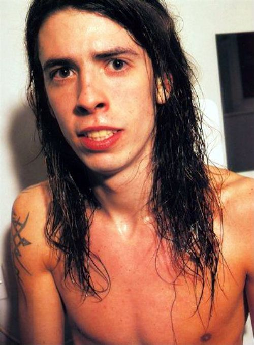 dave grohl young