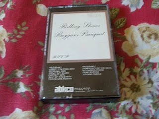 The Rolling Stones Beggars Banquet Abkco Cassette Tape