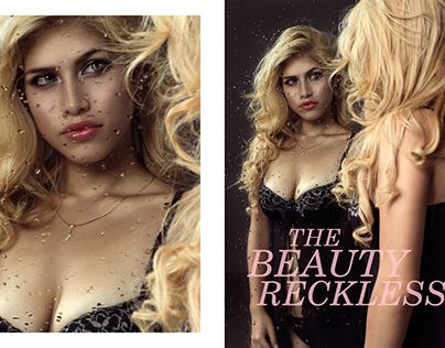 """Check out new work on my @Behance portfolio: """"the beauty reckless"""" http://on.be.net/1YJ3tkN"""