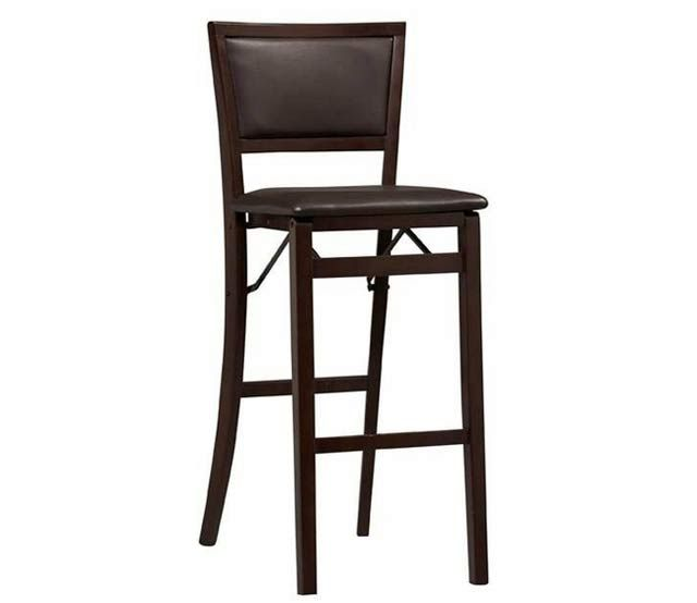 PadBack Folding Bar Stool