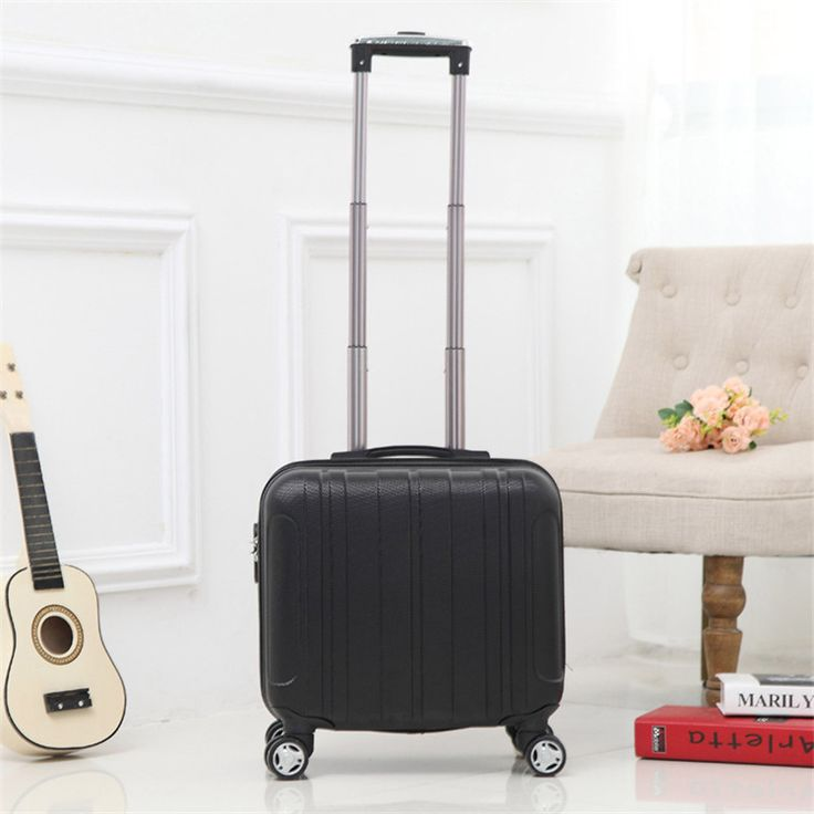 Fashion Business Trolley Suitcase ultra-quiet caster board chassis suitcase men women 16 inch Trolley Case travel luggage