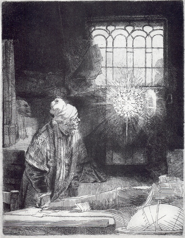 Rembrandt - Faust