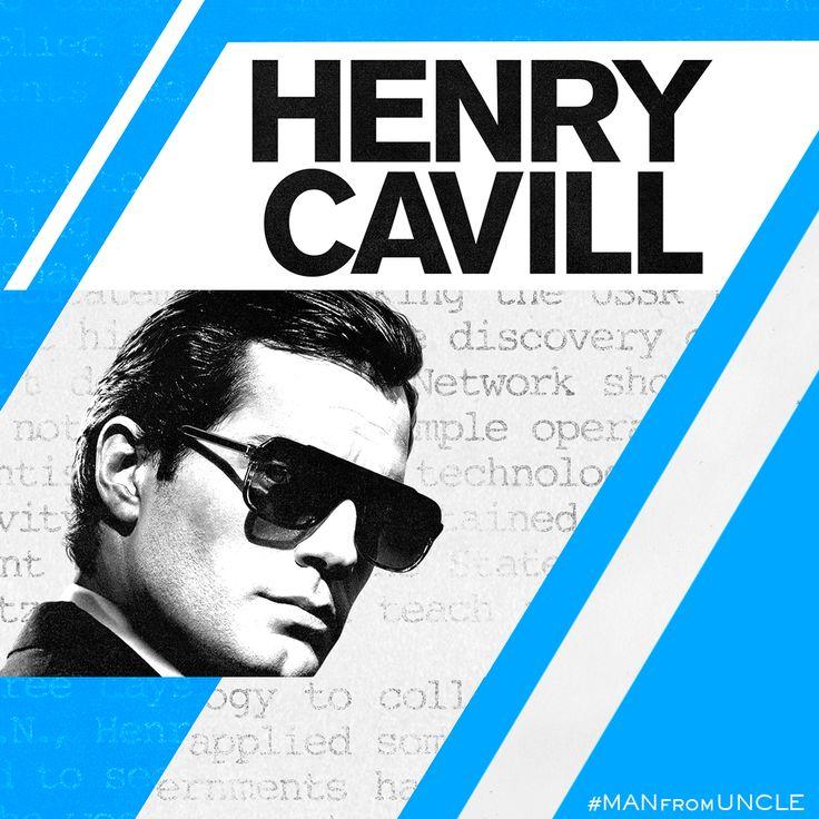 Hot Agent. Cold War. #HenryCavill #ManFromUNCLE